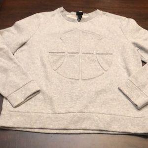 H&M basketball sweatshirt.